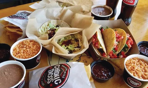 Product image for Chronic Tacos Mexican Grill $15 For $30 Worth Of Casual Dining