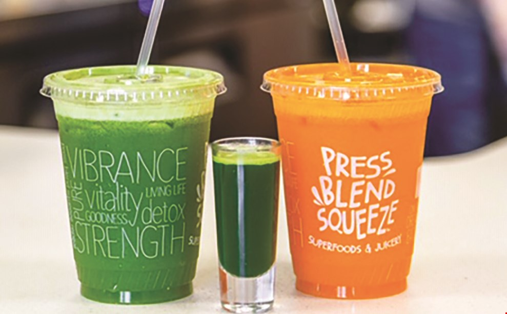 Product image for Press Blend Squeeze $10 For $20 Worth Of Casual Dining