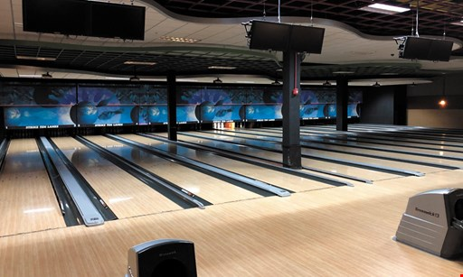 Product image for Strike 10 Lanes And Lounge $27 For 2 Games Of Bowling For 4 People Including Shoes (Reg. $54)