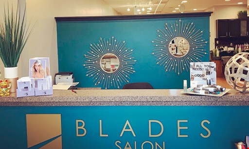 Product image for Blades Salon $50 For $100 Toward Cut, Color And/Or Highlights