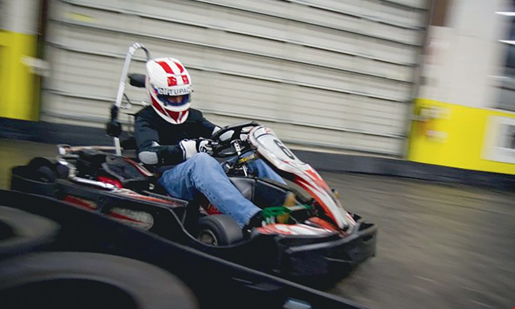 Product image for Sykart Indoor Racing Center $17 For 2 Races For 1 Person (Reg. $34)
