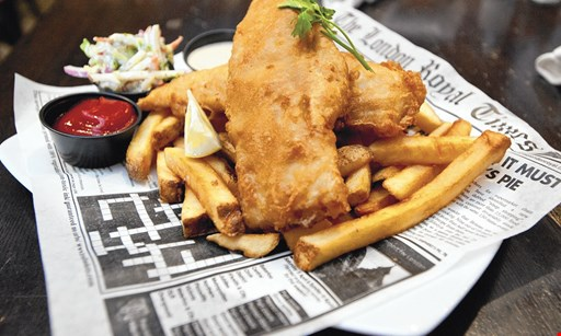 Product image for Union Jack's British Pub $10 For $20 Worth Of Pub Fare (Also Valid On Take-Out W/Min. Purchase $30)