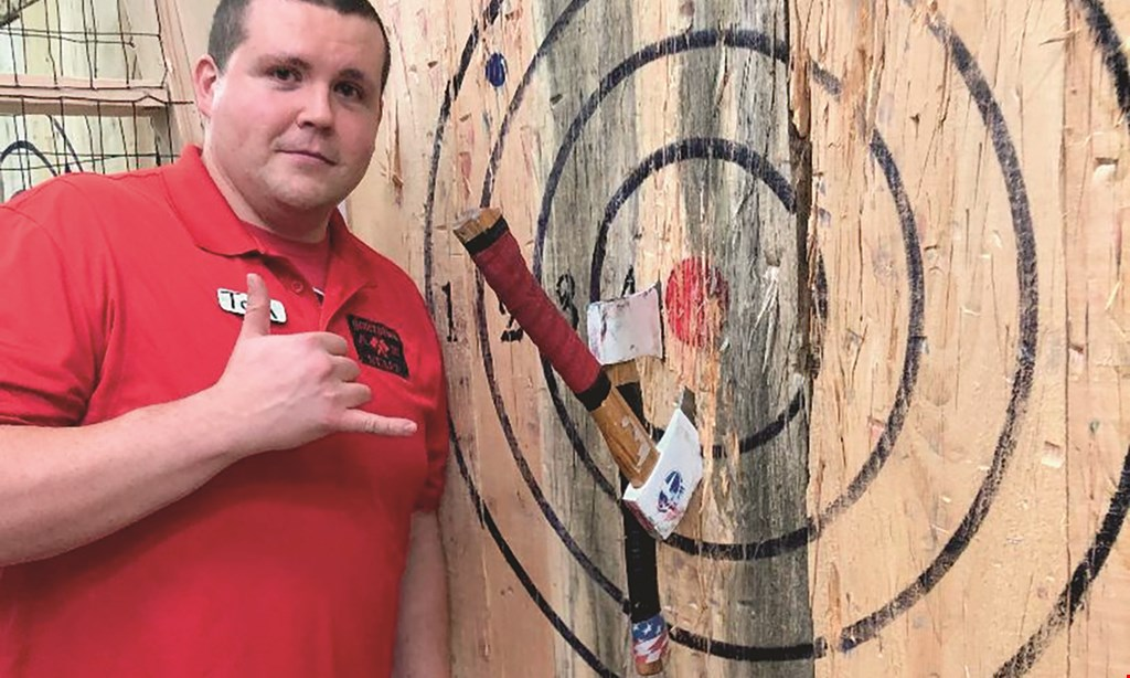 Product image for Generation Axe Throwing $25 For 1 Hour Of Axe Throwing For 2 People (Reg. $50)