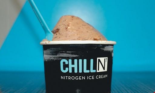 Product image for Chill N Nitrogen Ice Cream & Yogurt $10 For $20 Worth Of Frozen Treats