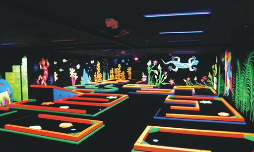 Product image for Adventure Alley $20 For $40 Toward Your Choice of Bowling, Glow Golf, Laser Tag or Go-Karts