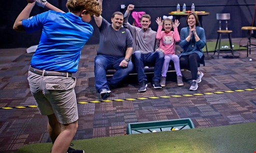 Product image for Off The Tee Llc $20 For One Hour Bay Rental Indoor Golf Simulator (Reg.$40)