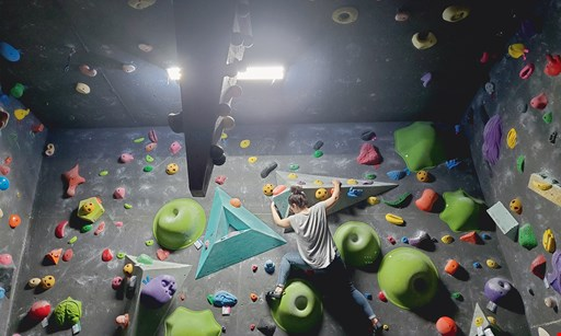 Product image for The Cave $15 For An Indoor Rock Climbing Day Pass With Rentals For 2 (Reg. $30)