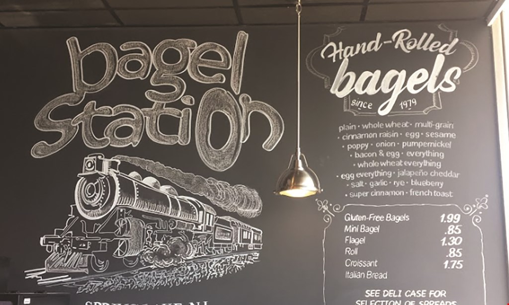 Product image for Bagel Station Deli & Grill $10 For $20 Worth of Bakery Items & More