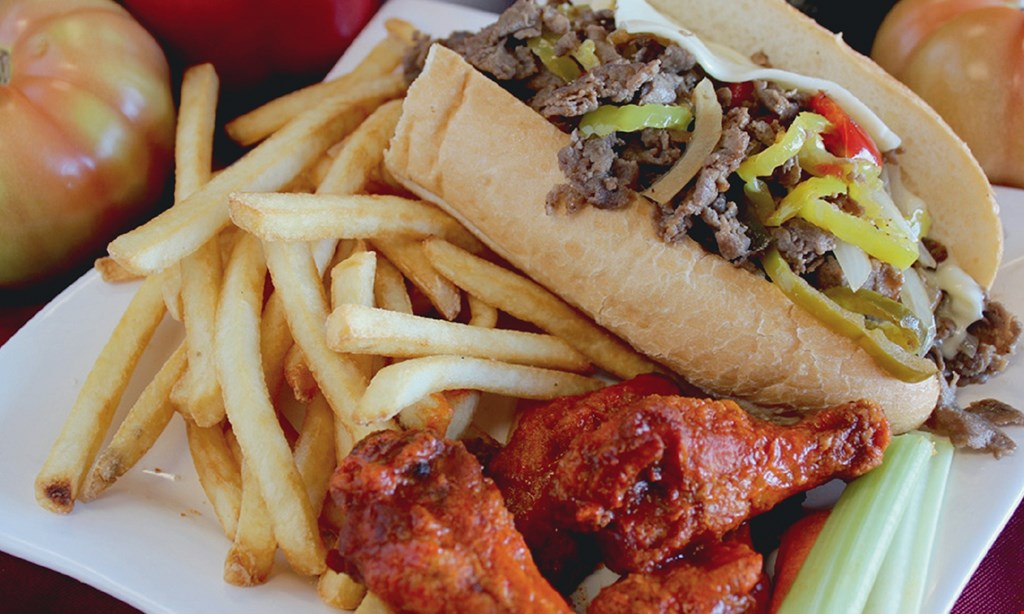 Product image for Philly Steak & Wings $10 For $20 Worth Of Casual Dining