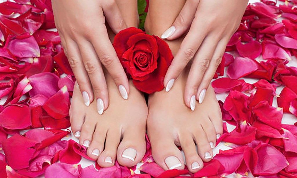 Product image for Perfect 10 Nail Spa $32.50 For A Gel Manicure & Orange Pedicure (Reg. $65)