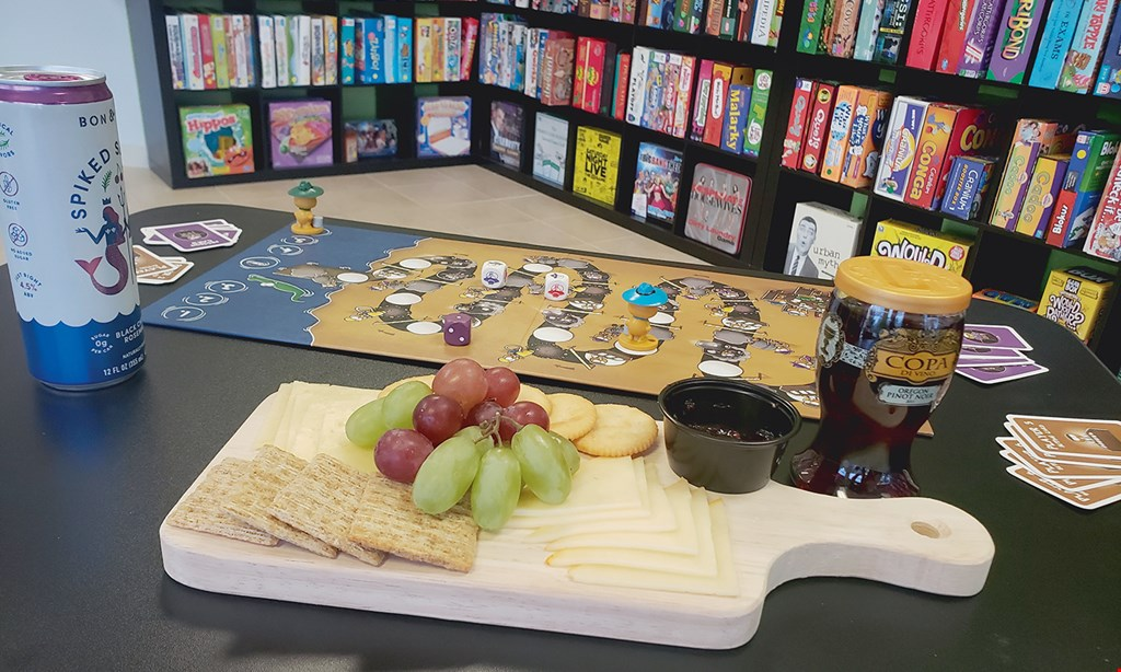Product image for Table Talk SRQ Board Game Cafe $10 For $20 Worth Of Casual Dining