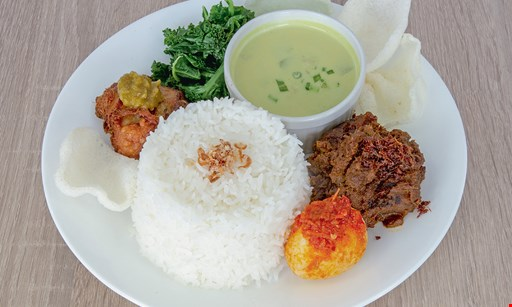 Product image for Bali Indonesian Cuisine $15 For $30 Worth Of Casual Dining