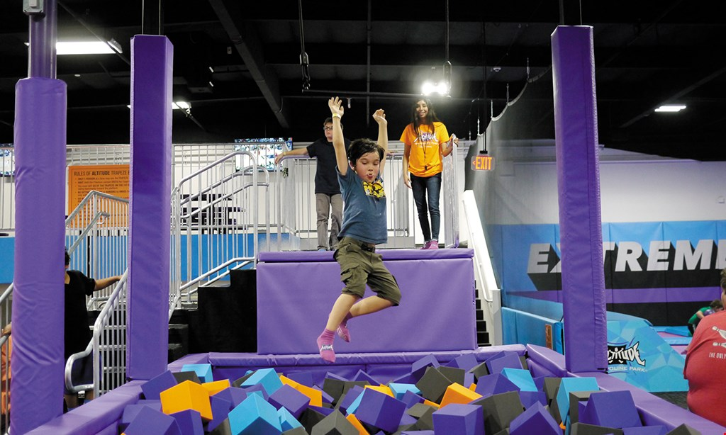 Product image for Altitude Trampoline Park $13.95 For 1 Hour Of Jump Time For 2 People (Reg. $27.90)