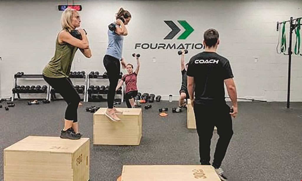 Product image for Fourmation Fitness $50 For A 10-Class Pass (Reg. $100)