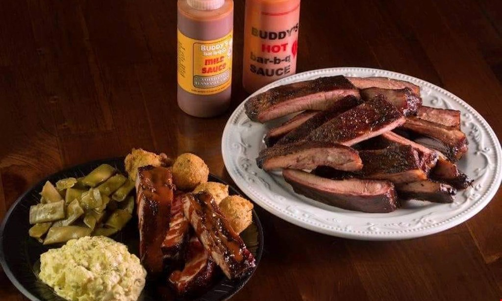 Product image for Buddy's Bar-B-Q Cleveland $10 for $20 Worth of Bar-B-Q and More