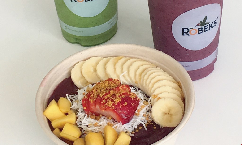 Product image for Robeks Fresh Juices & Smoothies $10 For $20 Worth Of Smoothies & More
