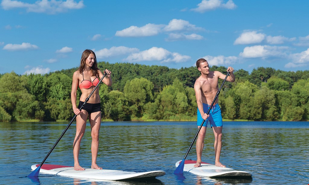 Product image for Las Olas Paddle Boards $25 For A 1-Hour Paddle Board Or Kayak Rental For 2 (Reg. $50)