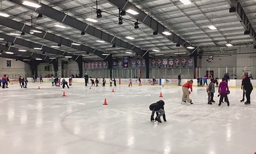 Product image for Prince William Ice Center $23 For 4 Public Skating Admissions, 4 Skate Rentals & 4 Small Fountain Drinks (Reg. $46)