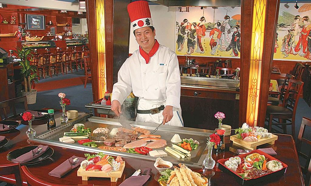 Product image for Sushi Hana Japanese Restaurant $15 For $30 Worth Of Japanese Hibachi Dining