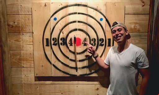 Product image for Columbus Axe Throwing $32 For 90 Minutes Of Axe Throwing For 2 People (Reg. $64)