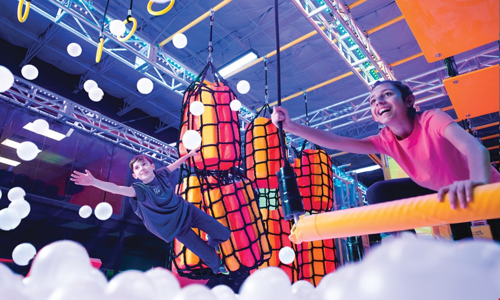 Product image for Urban Air Adventure Park $29.99 For An Ultimate Attraction Pass For 2 People