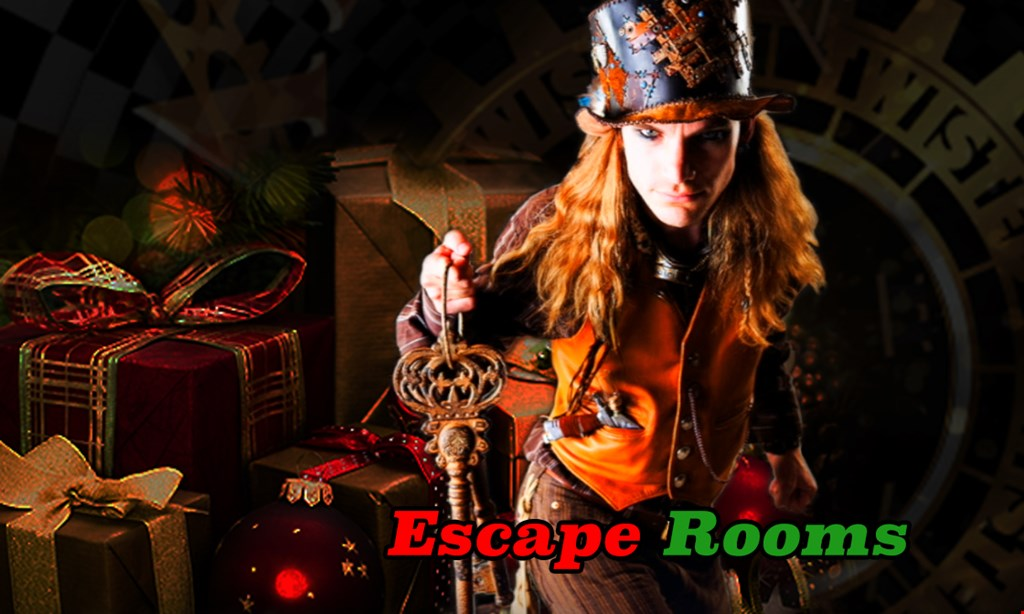 Product image for Twisted Minds Escape Rooms $30 for Admission of 2 people ($60 value)