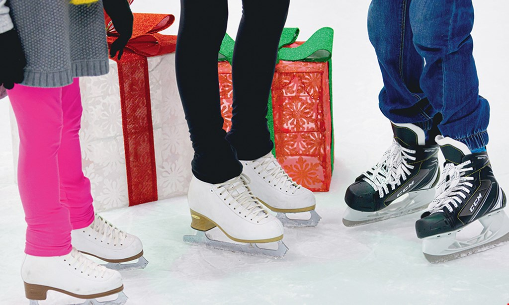 Product image for UTC Ice Sports Center $20 For Public Skating & Skate Rental For 2 People (Reg. $40)