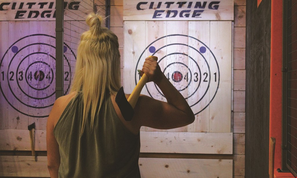 Product image for Sky Zone Axe Throwing $49.50 For 1-Hour Of Axe Throwing For 4 People (Reg. $99)