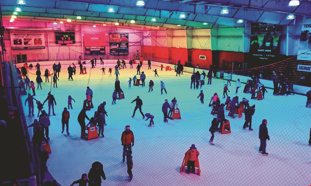Product image for Bill Gray's Regional Iceplex $24 For 4 Public Skating Admissions & 4 Skate Rentals (Reg. $48)
