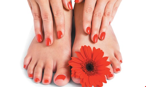 Product image for Teddie Kossof Salon & Spa $42.50 For A No-Chip Manicure & Pedicure (Reg. $85)