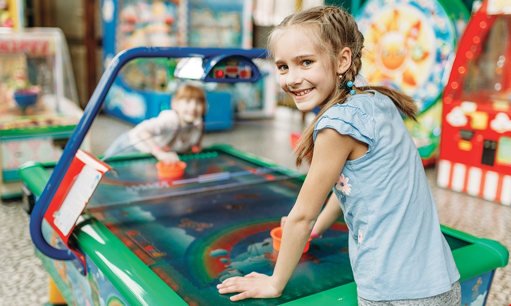 Product image for Funtasticks Charlotte $15.99 For A Family Fun Package Including A Large Pizza, 4 Beverages & 70 Arcade Tokens (Reg. $31.99)
