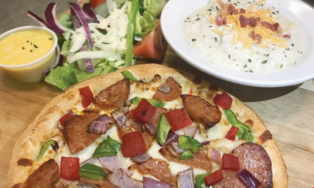 Product image for Red Fish Pizza $10 For $20 Worth Of Casual Dining