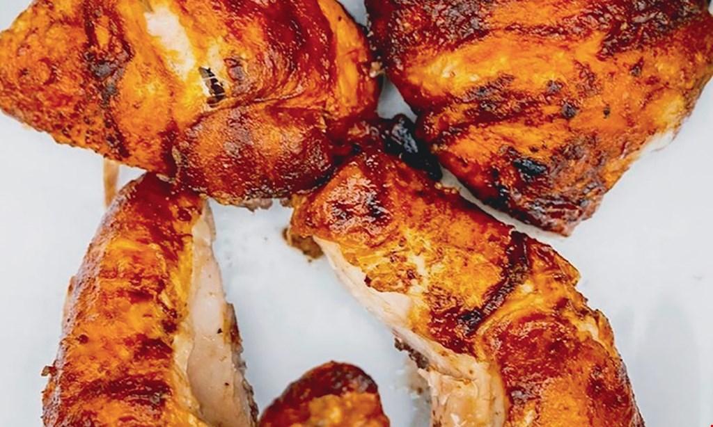Product image for Pio Chicken Blakeney $15 For $30 Worth Of Rotisserie Chicken, Columbian & Peruvian Fare