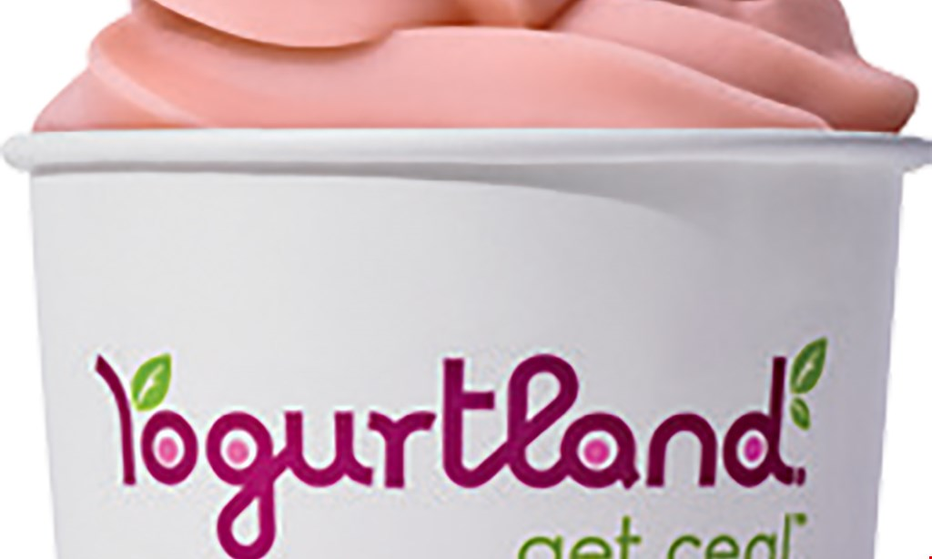 Product image for Yogurtland $10 For $20 Worth Of Frozen Yogurt & More