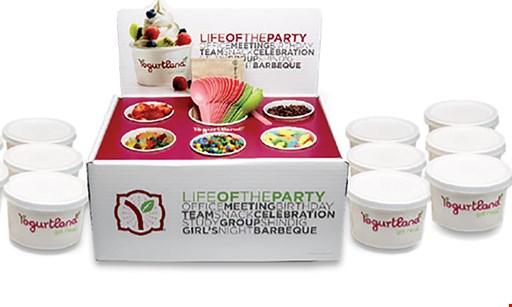 Product image for Yogurtland $10 For $20 Worth Of Frozen Yogurt & More
