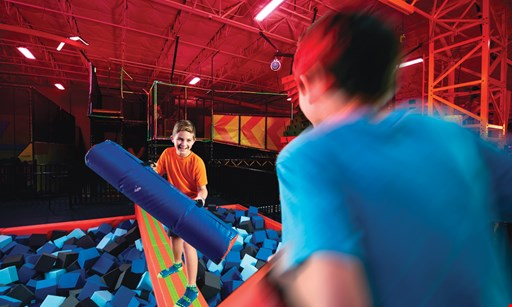 Product image for Urban Air Trampoline & Adventure Park Cranberry Township $27.99 For Ultimate Attraction Passes For 2 (Reg. $55.98)