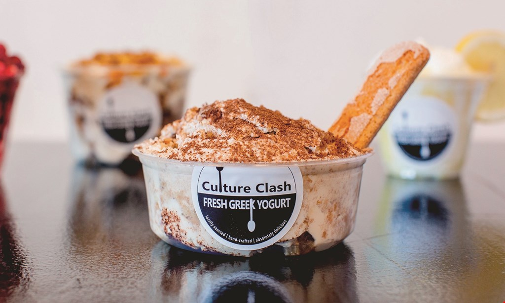 Product image for Culture Clash Fresh Greek Yogurt $10 For $20 Worth Of Greek Yogurt & More