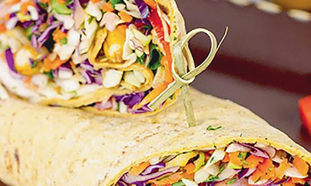 Product image for Dushi Wrap Cafe $10 For $20 Worth Of Cafe Dining