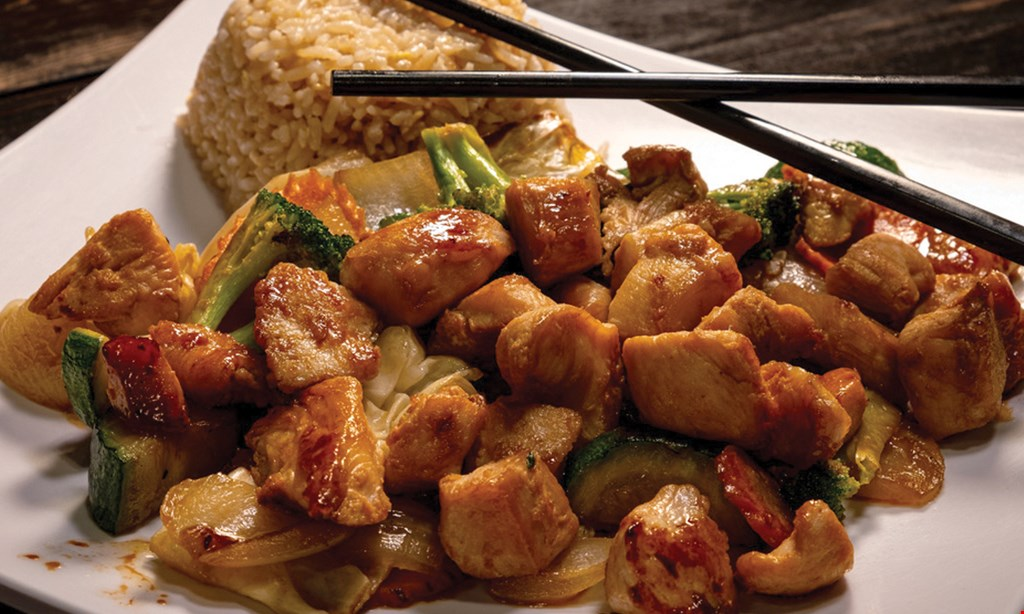 Product image for Hibachi & Wings $10 for $20 Worth of Food and Drinks