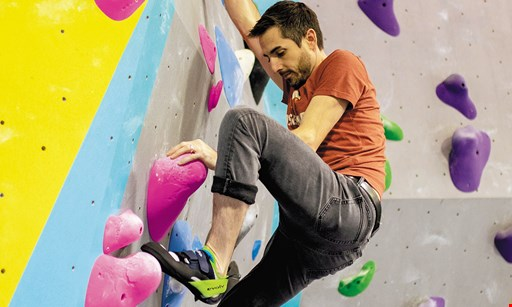 Product image for Ascend Climbing Youngstown $17 For 1 Climbing Day Pass With Rental Shoes for 2 (Reg. $34)