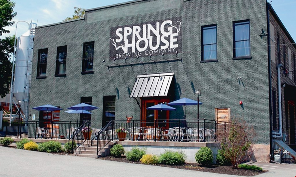 Product image for Spring House Brewing Company $15 For $30 Worth Of Casual Dining