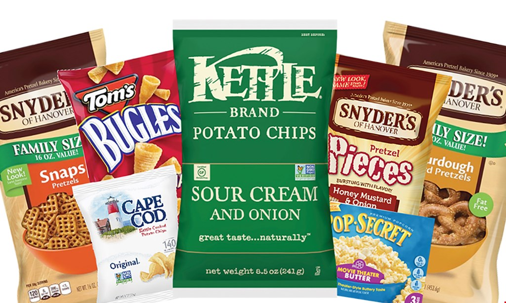 Product image for SNYDERS OF HANOVER FACTORY STORE $10 For $20 Worth Of Pretzels, Snacks & More