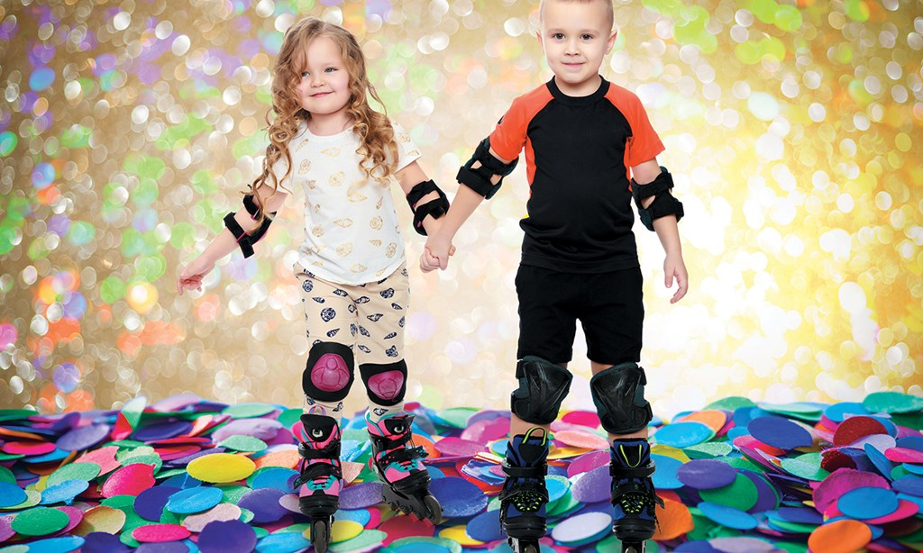 Product image for Sparkles Family Fun Center - Smyrna $13 For 2 Open Skate Admissions Including 2 Skate Rentals (Reg. $26)
