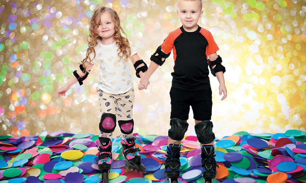 Product image for Sparkles Family Fun Center $13 For 2 Open Skate Admissions Including 2 Skate Rentals (Reg. $26)