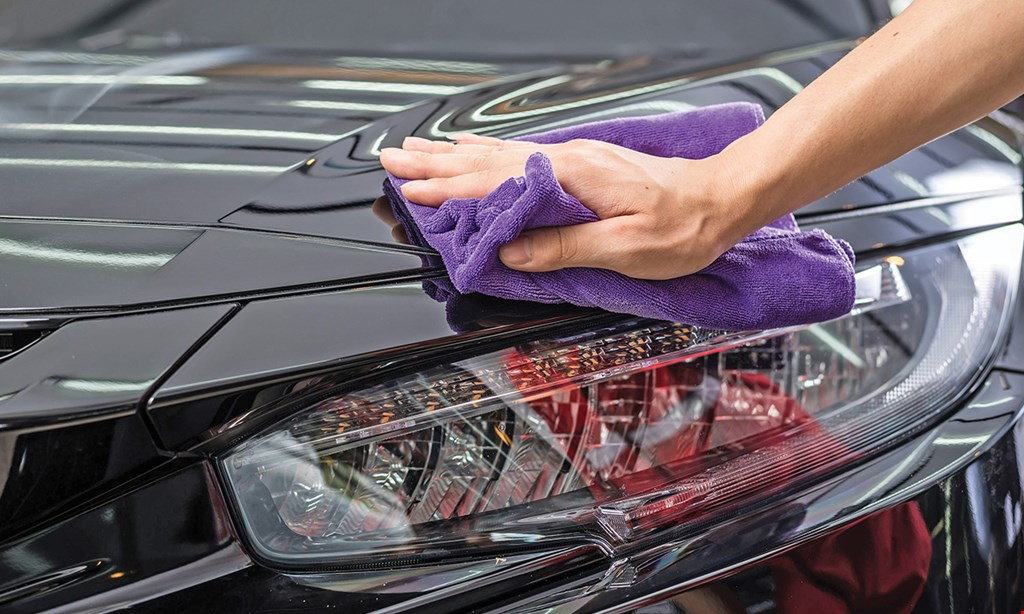 Product image for Americana Car Wash $29.50 For Express Detail (Reg. $59.95)