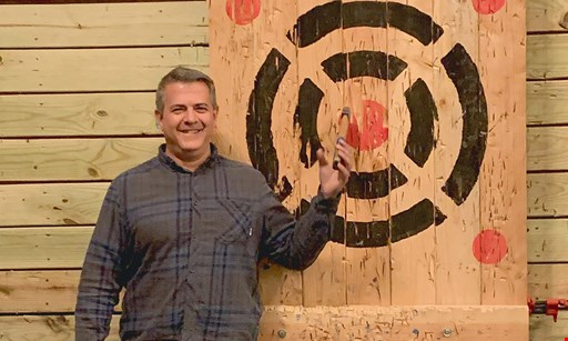 Product image for Stumpy's Hatchet House/Bucks County $50 For 1 Hour Of Axe Throwing For 4 People (Reg. $100)