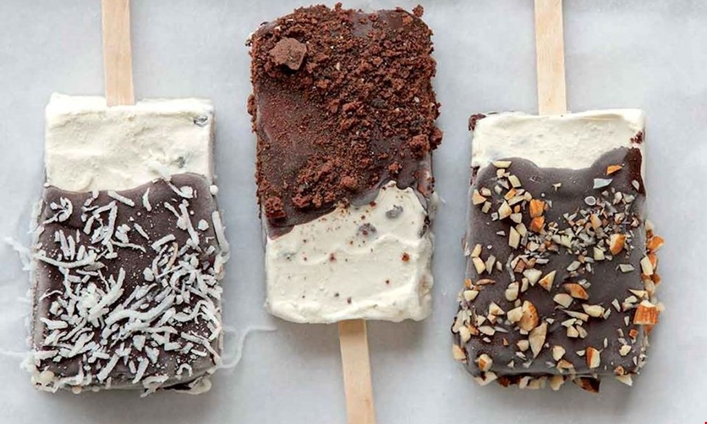 Product image for Gelata Poppin' $10 for $20 Worth of Breakfast/Brunch Foods, Ice Cream Treats and More