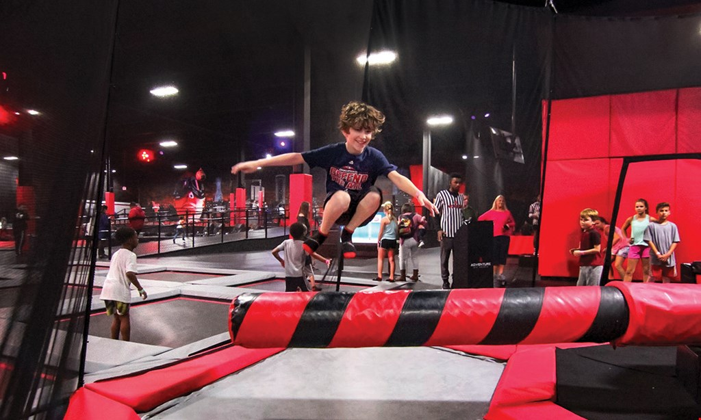 Product image for Adventure Air Sports Kennesaw $30 For All-Access 2-Hour Jump Passes For 2 (Reg. $60)