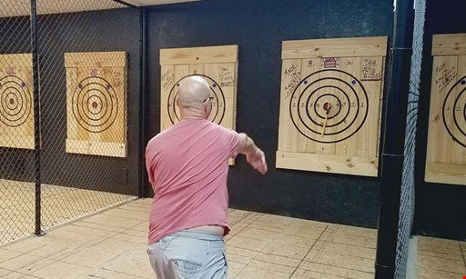 Product image for The Axe Haus $20 For 45 Minutes Of Axe Throwing & Instruction For 2 People (Reg. $40)