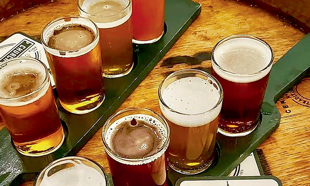 Product image for Church Street Brewing Company $14 For 2 Flights & A Tour For 2 (Reg. $28)